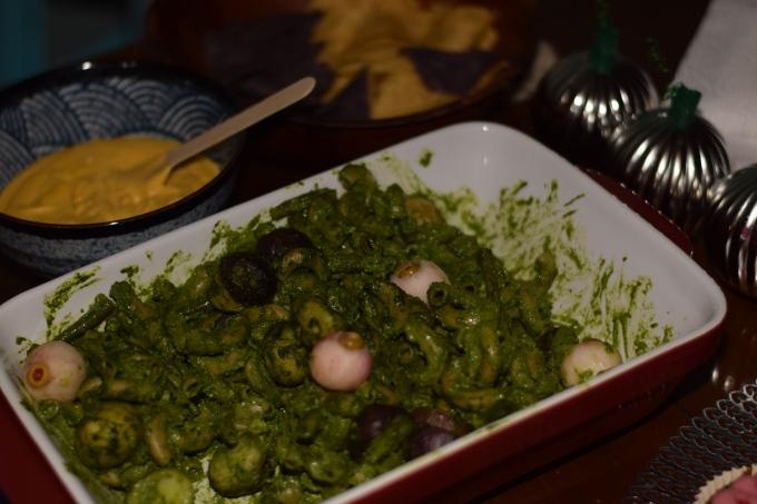 Vegan Gluten-free Pesto Pasta salad
